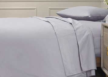 Пододеяльник ALFABED Royal Cotton Satin Mono Warm Grey